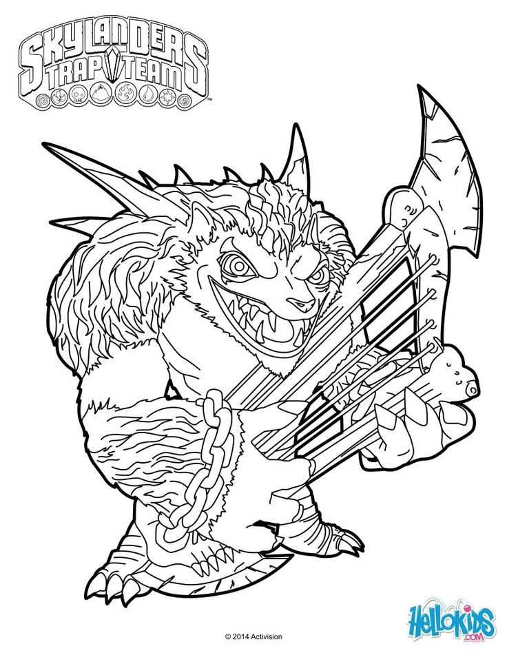 skylander flashwing coloring pages - photo#24