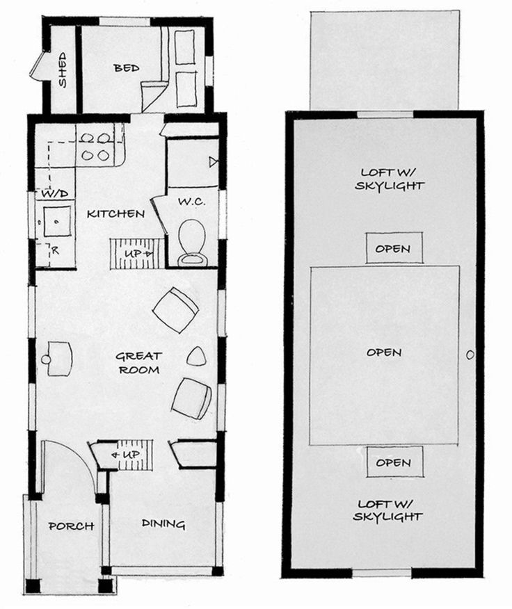 98 best Micro home images on Pinterest House floor plans Small