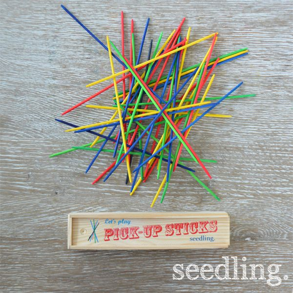 Let's Play Pick Up Sticks