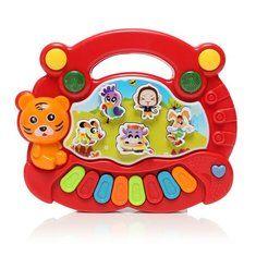 #Banggood Красные фермы детские детские Дети Животные Музыкальные развития электрических пианино клавиатура ранние развивающие игрушки (998755) #SuperDeals