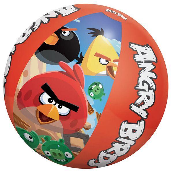 Bestway 96101 Пляжный мяч 51 см  Angry Birds   (36)