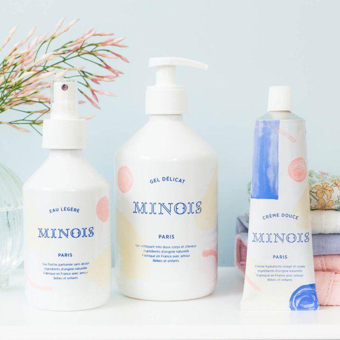 Minois Paris est une ligne de soins naturels pour bébés et enfants, fabriqués en France avec la plus grande exigence. Disponible sur lepetitflorilege.com