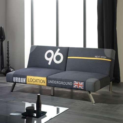 Sof cama modelo luis tapizado con tela de alto dise o en - Modelos de sofa cama ...