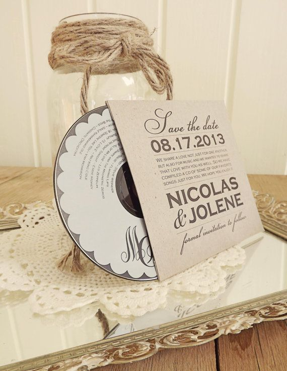 Custom Kraft CD Sleeves - Front & Back Printing - Save The Dates - Wedding Favors - Photography Portfolio Dvd / CD Covers on Etsy, $1.50