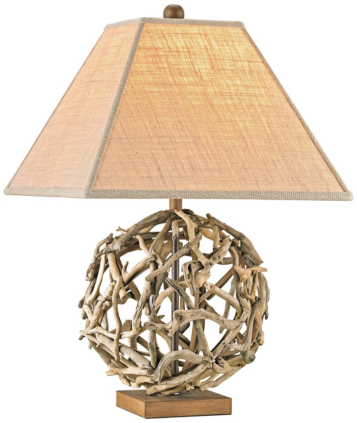 Lamp drift wood 61 pinterest currey and company driftwood sphere woodiron table lamp mozeypictures Image collections