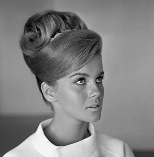 1960s hair & make up, this was an everyday style for professional women