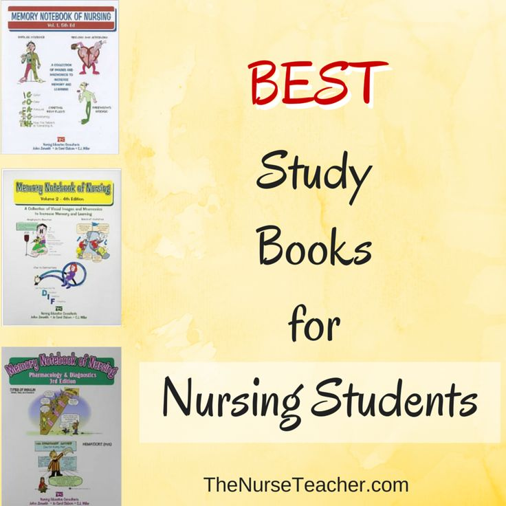 Nursing study books