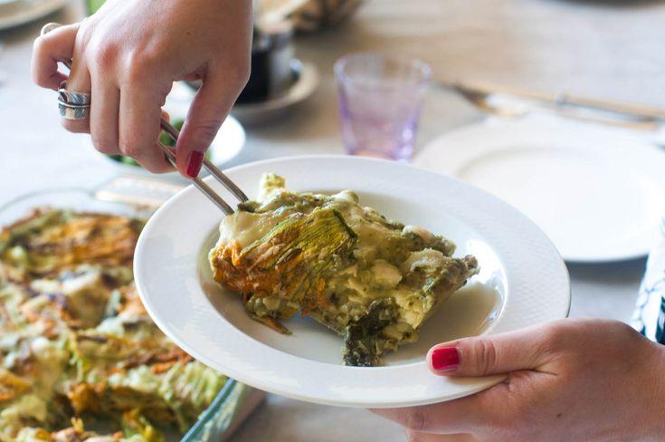 Le lasagne vegetariane della nostra Food Advisor: facili, sane e leggere! Anche d'estate! La ricetta la trovi qui: http://www.esteticaedonna.it/lasagne-vegetariane-ricetta/