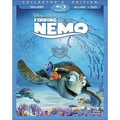 $29.99 Finding Nemo (3 Discs) (Includes Digital Copy) (Blu-ray/DVD) (Widescreen)