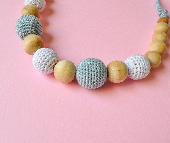 Two Colors Nursing Necklace/Teething Necklace -Breastfeeding Necklace-Mother's day