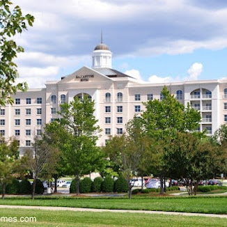 The Ballantyne Hotel in South Charlotte NC
