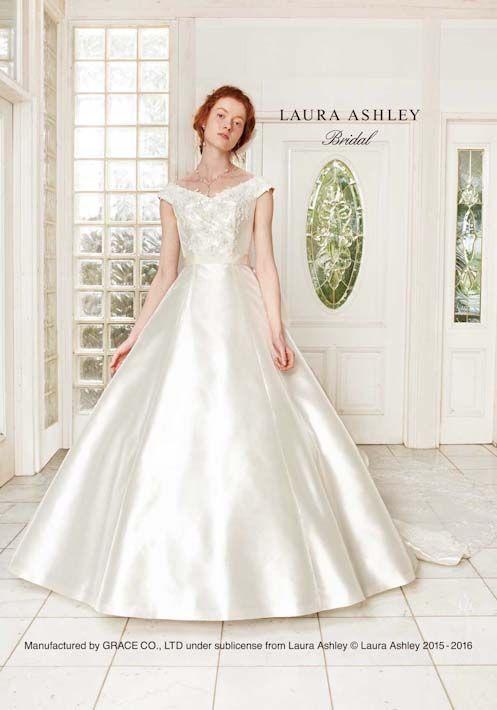 7e7183c8b6a6f シンプルイズベスト!シンプルさが可愛いAラインのウェディングドレス ...
