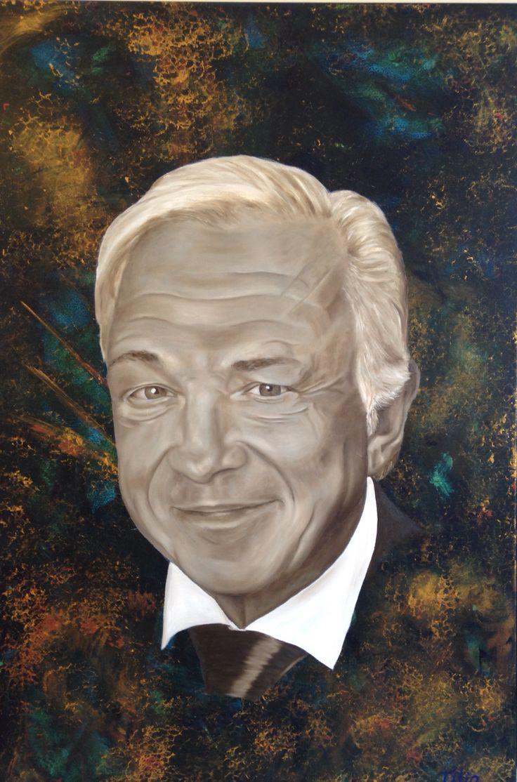 Directeur IVA. In opdracht van geschilderd