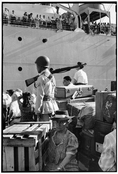 Henri Cartier Bresson China 1949 Shanghai Us Ship The