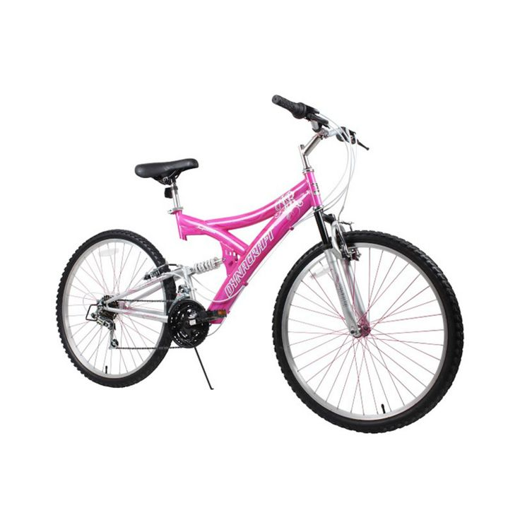 Dynacraft 26 in. Ladies Air Blast Full Suspension Mountain Bike - 8152-54TJD