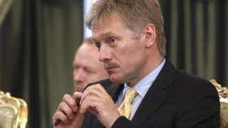 Image copyright AFP  Image caption  Kremlin spokesman Dmitry Peskov has denied the charges  The Kremlin has denied allegations by US authorities that the FSB intelligence agency was involved in a huge data breach affecting Yahoo.