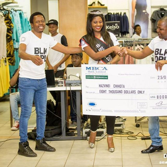 Highlights from the official Prize Giving Ceremony for BOFOZ 2016 Queen Hazvineyi Chiota where she was presented her $8000 prize.    The ceremony was held at Edgars Stanley House which is the store she entered #BOFOZ2016    Are you the next #BOFOZ Queen?    #BOFOZ2017  #AllEyesOnMe  #BLKOPL