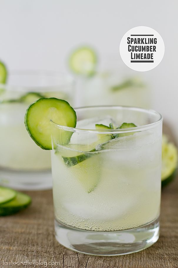 Fridays with Rachael Ray - Sparkling Cucumber Limeade | Taste and Tell