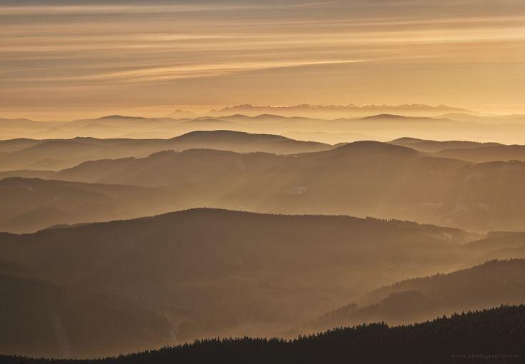Morning on Lysa hora by Myra-cz.deviantart.com