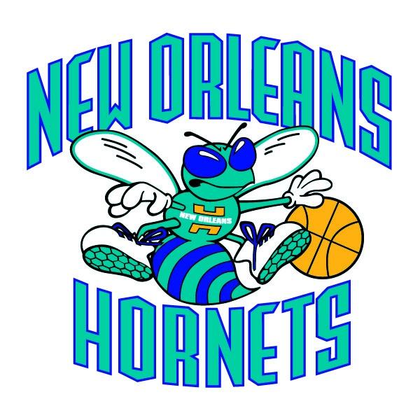 NBA New Orleans Hornets Logo [EPS File] | NBA Team Logos ...