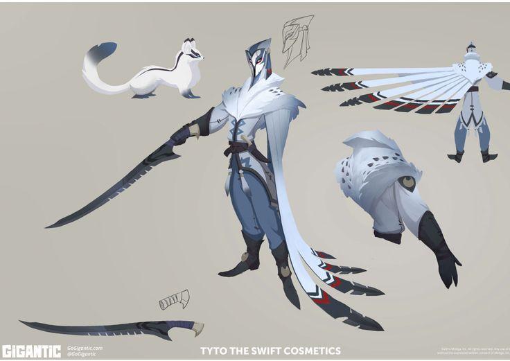 Concept Arts do game Gigantic, do estúdio Motiga | THECAB - The Concept Art Blog                                                                                                                                                                                 Mais