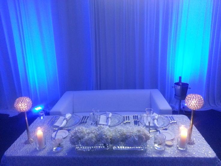 136 Best Bling Sweetheart Tables Images On Pinterest
