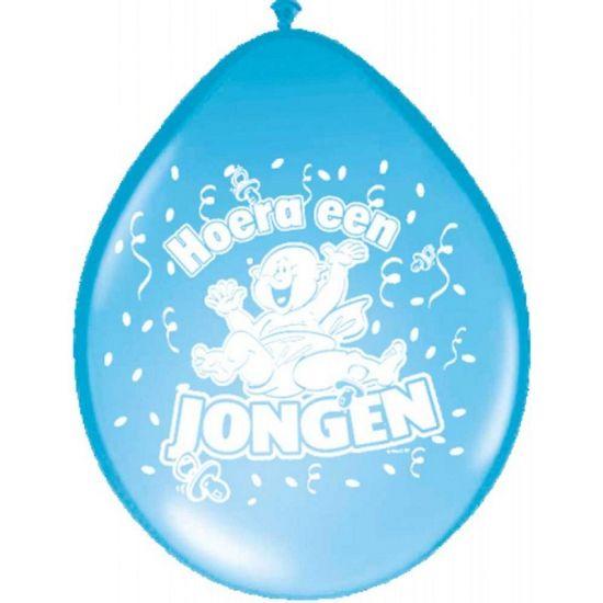 Ballonnen geboorte jongen  Blauwe geboorte ballonnen voor jongens. Inhoud 8 stuks. Formaat: 30 cm.  EUR 2.50  Meer informatie