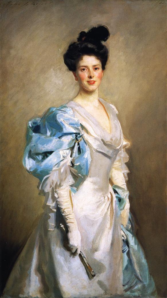 Mrs. Joseph Chamberlain by John Singer Sargent, 1902.