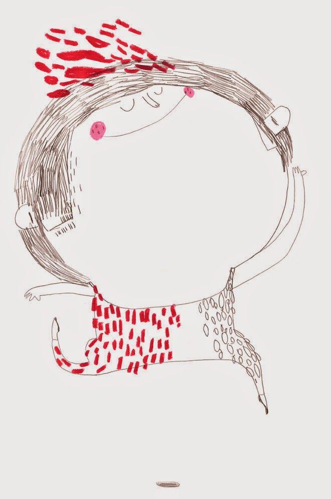 Pinzellades al món: Les il·lustracions de Christine Roussey: tot un món amb traços infantils