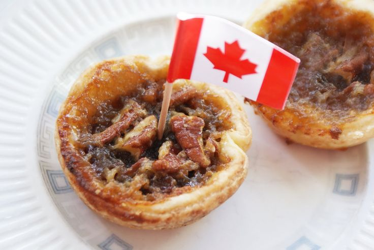Canadian Butter Tarts..made with real butter, currants, whole Pecans and of course real Canadian Maple Syrup