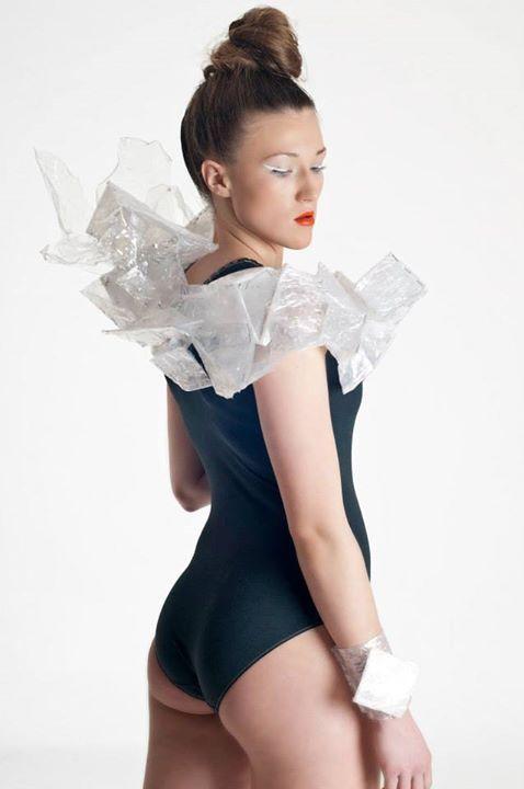 designer: Marta Buchholz mua: Karolina Garstecka model: Adrianna Majchrzak photo: Magdalena Andrynowska