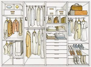 Nos encanta este decálogo con ideas sencillas para aprovechar el máximo el espacio en el armario.
