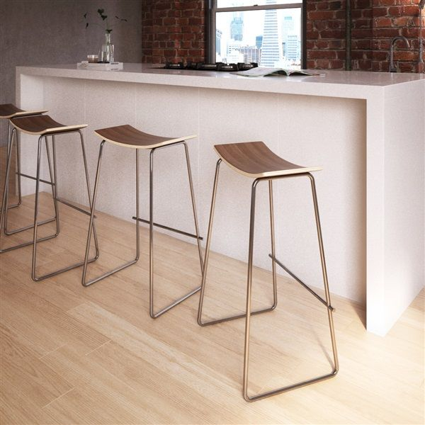 Yvonne Potter Timber Counter Stool In 2021 | Modern Kitchen Stools, Counter Stools, Kitchen Stools