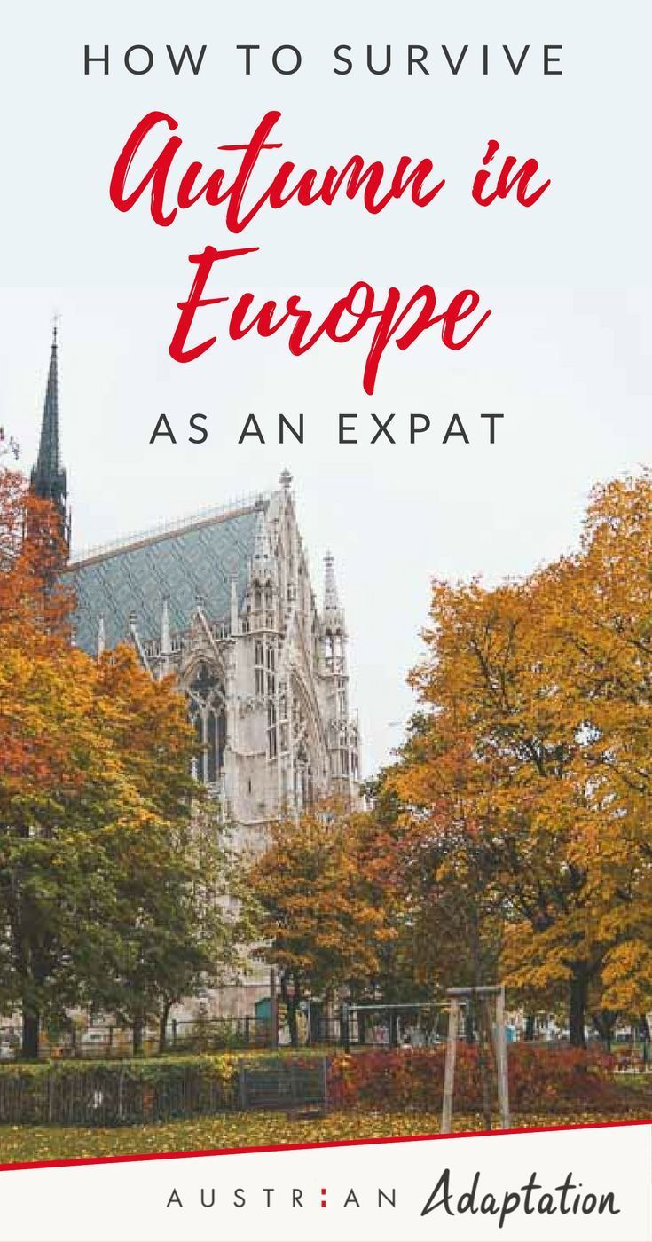 Tips from an #expat on how to survive #Europe in #autumn. Living in #Vienna #Austria during fall and surviving the changing #weather can be challenging. These tips including food, wine, books, outfits, activities, and more will help! #austrianblogger
