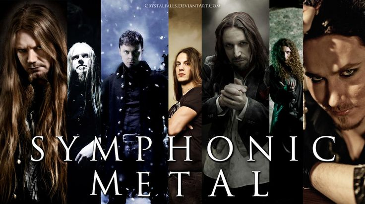 Symphonic Metal Men by crystalfalls.deviantart.com