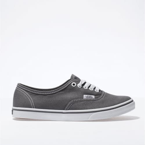 d0c4dcc5 womens dark grey vans authentic lo pro trainers | schuh | Vegan ...