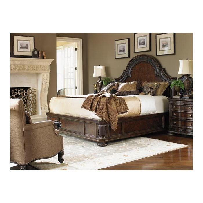 florentino cavallino panel king bed in portofino nebraska furniture mart
