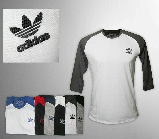 Kaos Adidas Raglan
