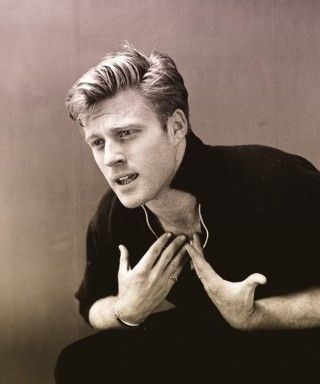 Young Images Of Robert Redford | young Robert Redford as Mr. Death from The Twilight Zone
