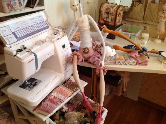 Кукольная мастерская ANNADAN: Творческий процесс, вдохновение это и есть состояние счастья.: