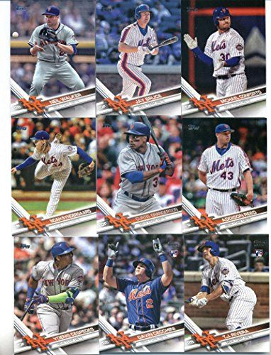 2017 Topps Series 2 New York Mets Team Set of 13 Cards: Michael Conforto(#408), Neil Walker(#416), New York Mets(#426), Jay Bruce(#428), Curtis Granderson(#525), Addison Reed(#546), T.J. Rivera(#553), Noah Syndergaard(#555), Yoenis Cespedes(#600), Gavin Cecchini(#604), Zack Wheeler(#631), Steven Matz(#632), Jose Reyes(#647)  One Team Set of 2017 Topps Series 2. Collect all 30 team sets & look for inserts here on Amazon!  Cards are in mint condition!  We have team sets for all four majo...