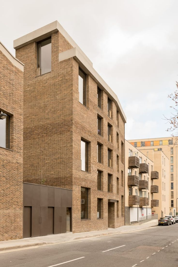 Jaccaud Zein Architects · Shepherdess Walk Housing