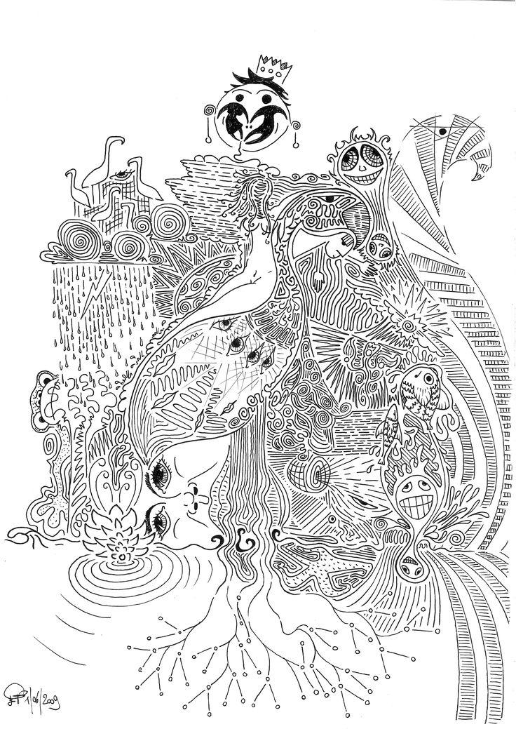 #fenicottero #drawing #mywork #whiteandblack #disegno #handwriting