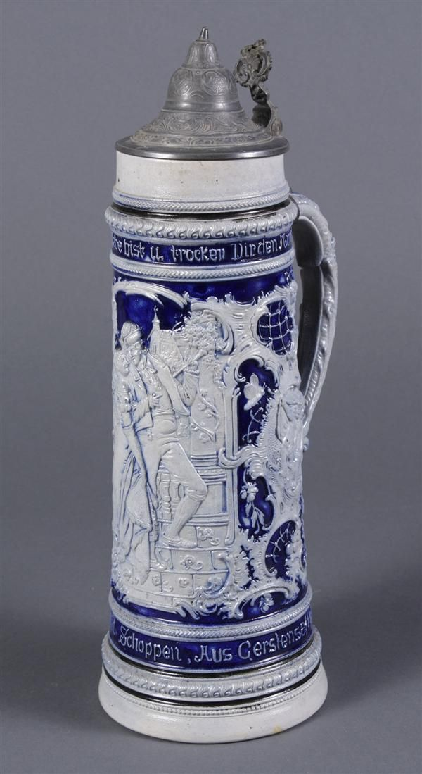 How do you identify beer steins from Germany?