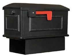 Special Lite Traditional Mailbox with Newspaper Holder. Nobody can match our customer service.