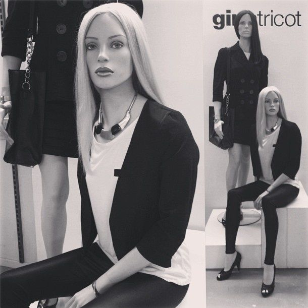 exposure I made in school. Gina Tricot Sweden. Visual merchandiser.