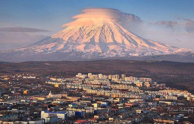 The city of Petropavlovsk Kamchatsky