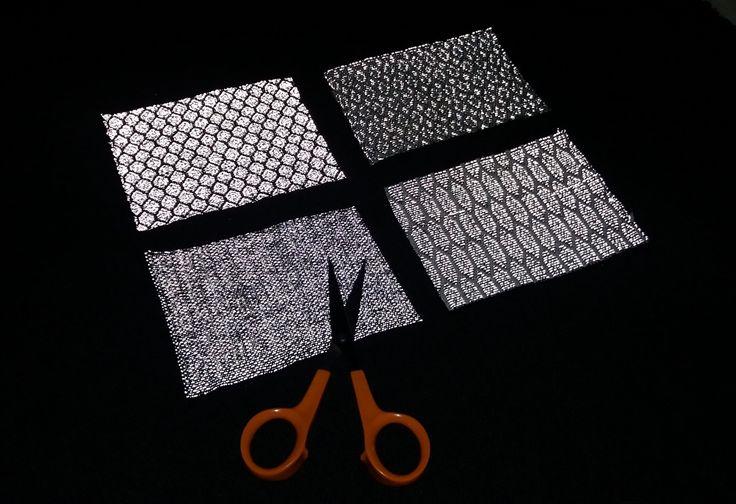 Reflective wool blend fabrics / Heijastavat villasekoitekankaat