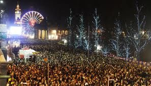 Go to the Edinburgh Street Party to see in the New year !