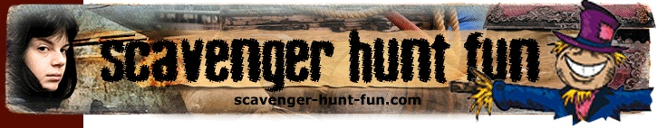 Glow-in-the-Dark Scavenger Hunt and other fun hunts